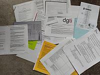 Redistributed participants bureaucratic documents