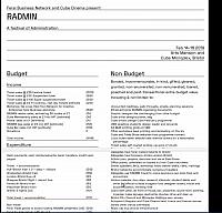 Feral budgetting